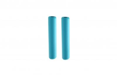 ESI Paire de Grips CHUNKY Silicone Aqua 32mm