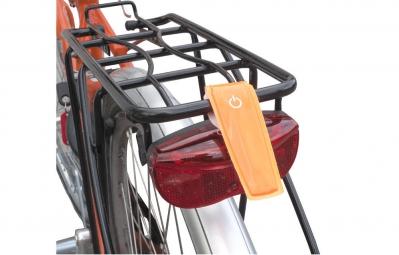 WOWOW Réflecteur avec LED Orange