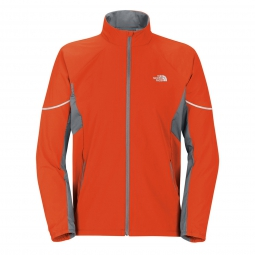 THE NORTH FACE Veste ISOVENTUS Orange Gris Homme