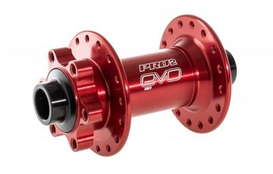 HOPE Moyeu Avant PRO 2 EVO BOOST 110X15mm 32 Trous Rouge