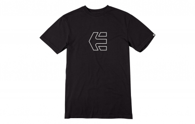ETNIES 2015 T-Shirt ICON OUTLINE Noir