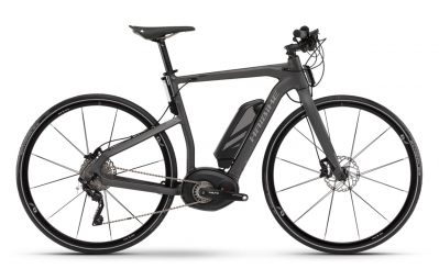 HAIBIKE 2016 Vélo Complet XDURO URBAN RC Gris Anthracite Mat