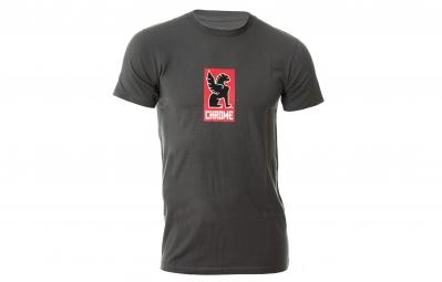 CHROME T Shirt LOGO Gris foncé