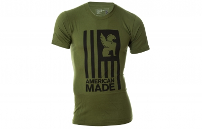 CHROME T Shirt AMERICAN MADE kaki