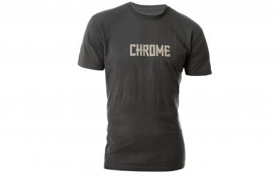 CHROME Tshirt TEXT Gris