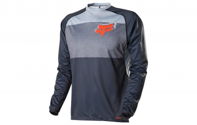 FOX Maillot Manches Longues INDICATOR Gris Orange