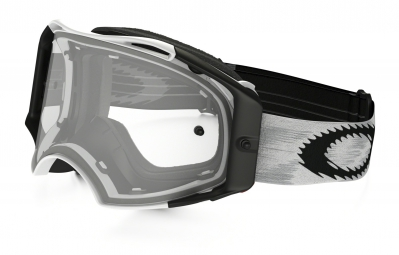 OAKLEY Masque AIRBRAKE MX Matte White/Clear Réf 57-980