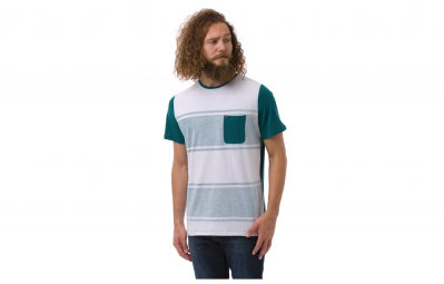ANIMAL T-Shirt WIDER Blanc Bleu
