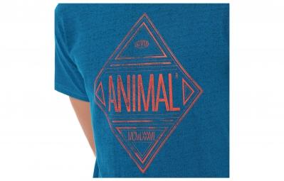 ANIMAL T-Shirt DIAMOND Bleu