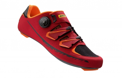 Chaussures Route Mavic Ksyrium Pro II 2016 Rouge