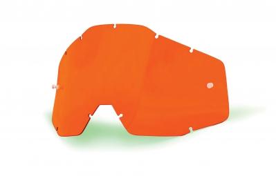 100% Ecran Orange anti-buée RACECRAFT, ACCURI et STRATA