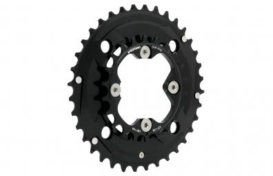 E-THIRTEEN Plateau DOUBLE SHIFTRING 104mm Noir