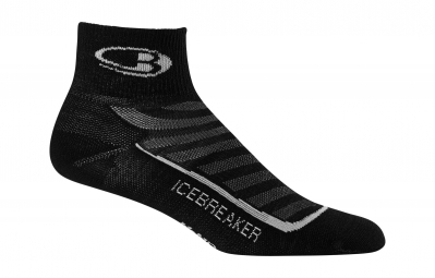 ICEBREAKER Chaussettes RUN+ ULTRA LIGHT MINI Noir