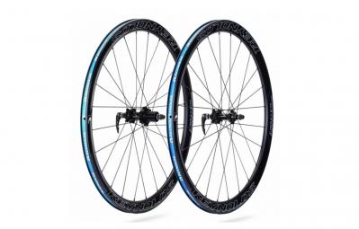 REYNOLDS paire de roues ASSAULT 41mm DISC carbone pneu corps shimano sram