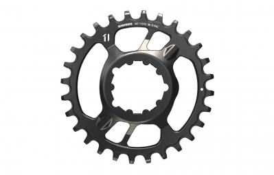 SRAM Plateau X-SYNC DIRECT MOUNT Offset 6mm Acier 28 Dents GXP 11 Vitesses Noir