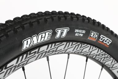 MAXXIS Pneu RACE TT 29x2.00 Dual 60a-62a Tubeless Ready Souple TB96822100