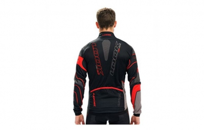 LOOK Maillot Manches longues PRO TEAM Noir/Rouge