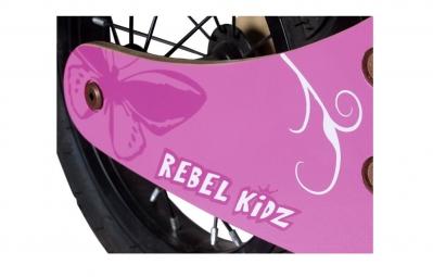 REBEL KIDZ Draisienne 12´´ Bois Retro Rose - 2 à 5 ans