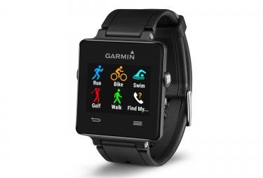 GARMIN montre VIVOACTIVE GPS + Ceinture cardiaque Noir
