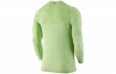 NIKE Maillot DRI-FIT KNIT Vert Homme