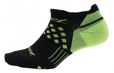 ZOOT Chaussettes NO-SHOW SOCK Noir Vert