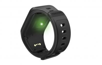 tomtom montre gps runner 2 cardio bracelet fin noir anthracite. Black Bedroom Furniture Sets. Home Design Ideas