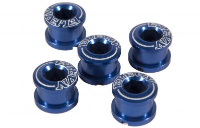 ELEVN Pack de 5 Vis pour Couronne Alu Bleu