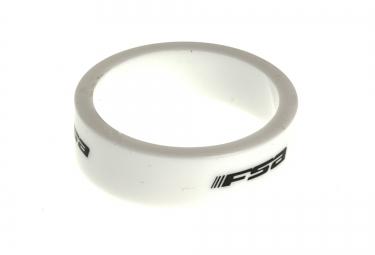 FSA Entretoise 1-1/8´´ Polycarbonate Blanc