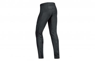 GORE RUNNING WEAR Pantalon Air Windstopper Soft Shell Noir