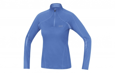 GORE RUNNING WEAR Maillot à Manches Longues Essential 2.0 Lady Bleu