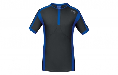 GORE RUNNING WEAR Maillot Air Noir/Bleu