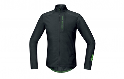 GORE BIKE WEAR Maillot Power Trail Thermo Noir