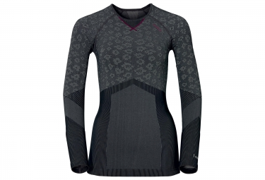 ODLO 2016 T-Shirt Manches Longues Femme EVOLUTION WARM Blackcomb