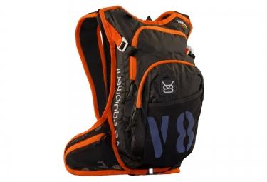 V8 EQUIPMENT Sac à dos RAC 6.1 Noir Orange