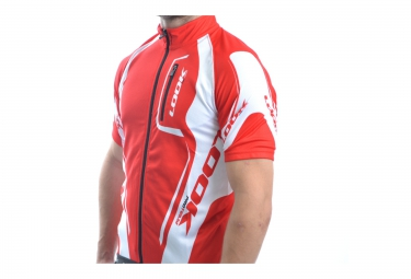 LOOK Maillot PROTEAM Blanc/Rouge