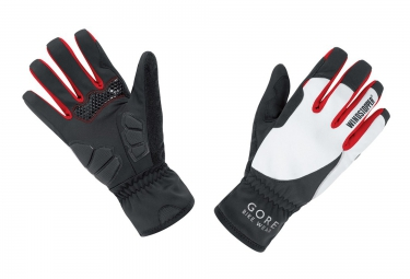 GORE BIKE WEAR Gants POWER Windstopper Soft Shell Lady Noir/Blanc