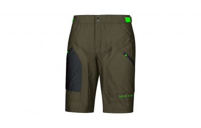 GORE BIKE WEAR Short+ POWER TRAIL Kaki