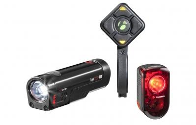 BONTRAGER Kit Eclairages Wireless TRANSMITR USB Avant ION 700 RT / Arrière FLARE RT + Télécommande