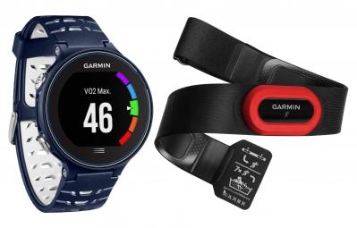 GARMIN Montre GPS Forerunner 630 Pack HRM4 Bleu/Blanc