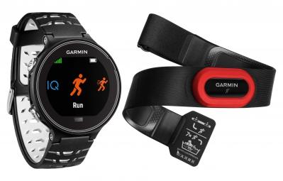 GARMIN Montre GPS Forerunner 630 Pack HRM4 Noir/Blanc