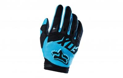 FOX 2015 Paire de gants DIRTPAW Aqua Bleu