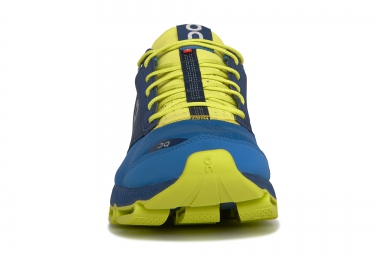 ON RUNNING Cloudster Bleu Jaune