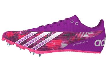 adidas Chaussures Femme SPRINT STAR 4 Violet Blanc