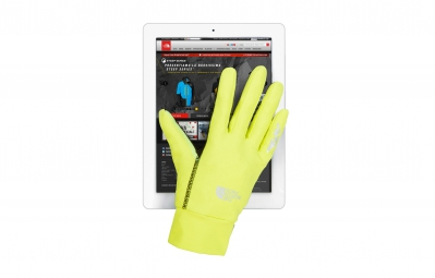 THE NORTH FACE Gants RUNNERS 1 ETIP Jaune