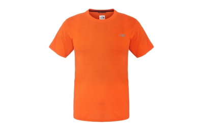 THE NORTH FACE T-Shirt REAXION Orange Homme