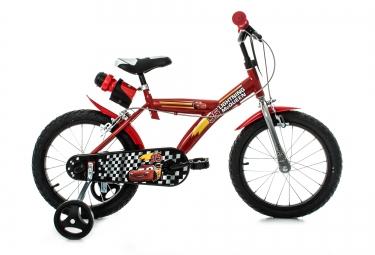 DINO Vélo Enfant 16´´ CARS Rouge Noir