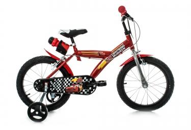 DINO Vélo Enfant 14´´ CARS Rouge Noir