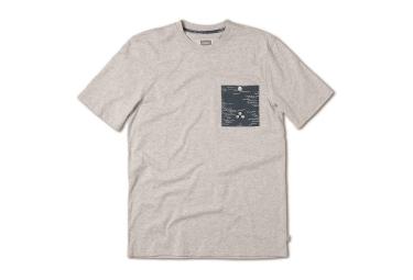 ALTAMONT T Shirt WAVY CREW Gris