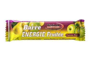 FENIOUX MULTI-SPORTS Barre à L'Unité ENERGIE FRUITEE Goût Pomme-Poire