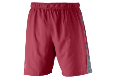 SALOMON Short PARK 2IN1 Rouge
